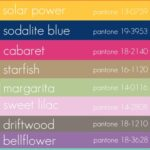 pantone 2012 spring colour palate