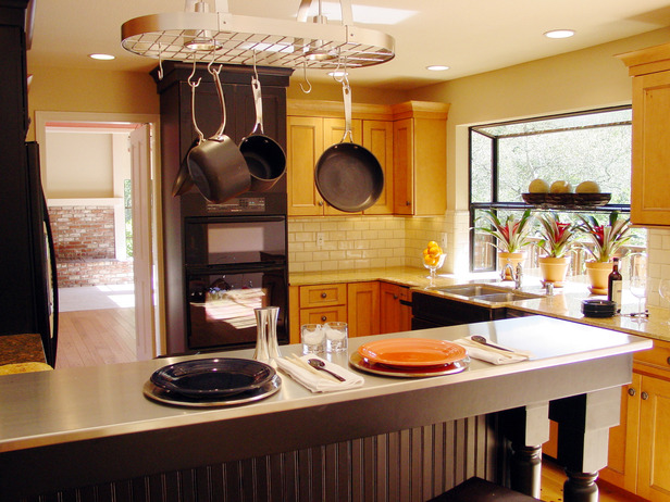 Sunflower kitchen HGTV